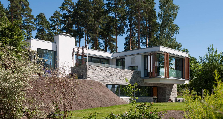 Oev6 logg arkitekter for Prix construction maison en pierre