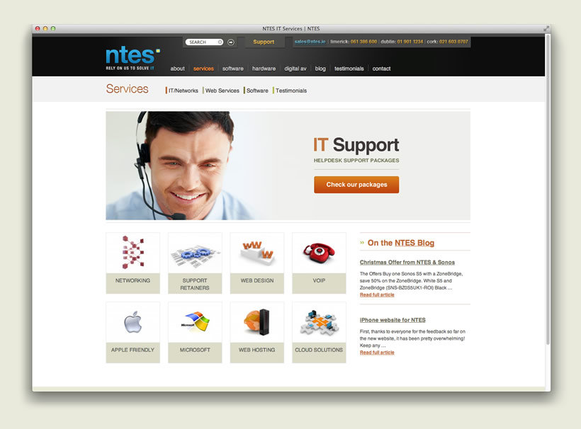 NTES IT Support | IT Section