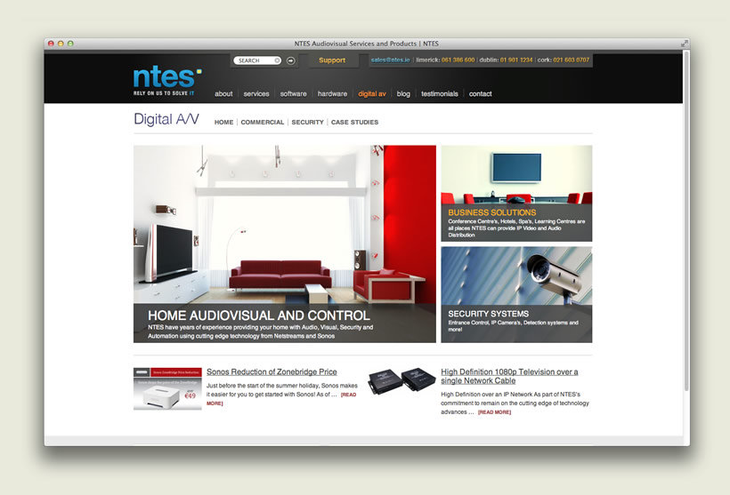 NTES IT Support | Audiovisual Section