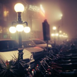 Foggy nights lahore