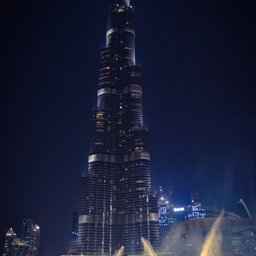 Burj khalifa night fountains