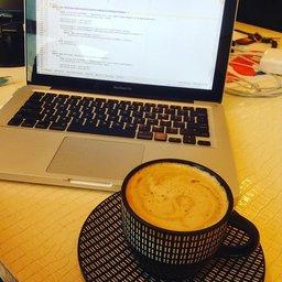 Office work coffee