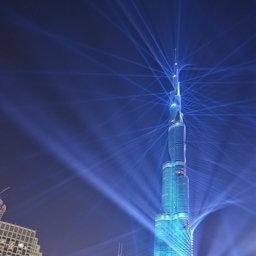 Burj khalifa lightworks