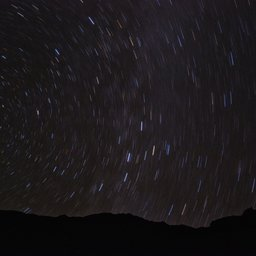 Star trails brichkhor