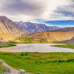 Lake in fairy meadows