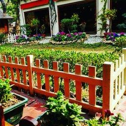 English tea house garden