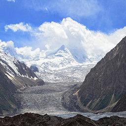 Glacier near trishing hunza