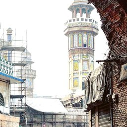 Masjid wazir khan, delhigate