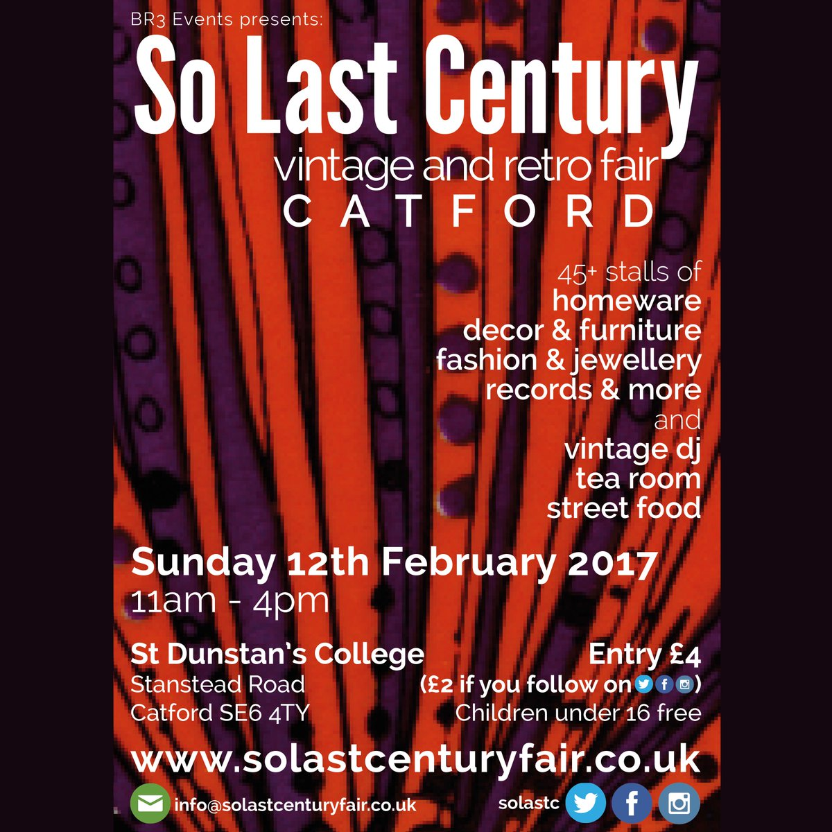 So last century poster