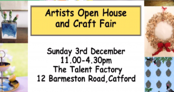Artists Open House and Craft Fair in Catford