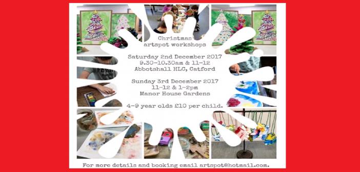 Art Spot Christmas Craft Workshop in Catford