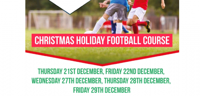 Christmas Holiday Football Course with Sports Fun 4 All