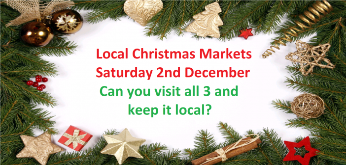 Christmas Markets and Events – Saturday 2nd December 2017