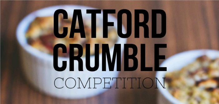 2nd Annual Catford Crumble Competition – 19 January 2019