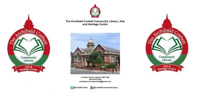 Archibald Corbett Community Library – Activities January 2018
