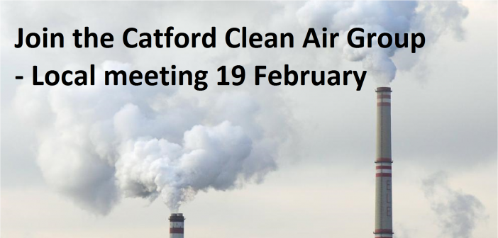 Can you be a clean air hero for your Catford road?
