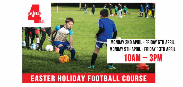Easter Holiday Football Course with Sports Fun 4 All