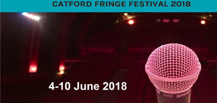 Catford Fringe Festival 2018 – Broadway Theatre