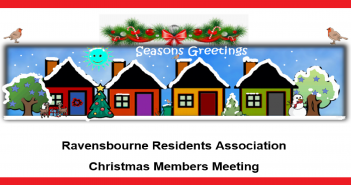 Ravensbourne Residents Association Christmas meeting and AGM 4 December