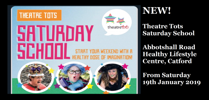 Theatre Tots Saturday School – Abbotshall Healthy Lifestyle Centre