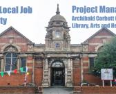 Local Job Alert – Project Manager Corbett Community Centre Catford