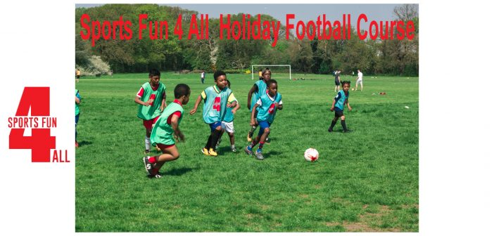 Sports Fun 4 All – May Holiday Football Course