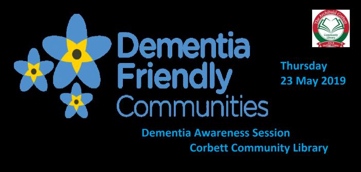 Corbett Community Library – 'Dementia Awareness' session