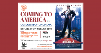 Coming to America – Pop up cinema event in Catford