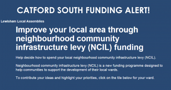 Shape the Future of Catford South – NCIL IS HERE!