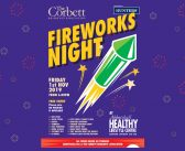 Corbett Residents Association annual FREE firework event 1st November 2019