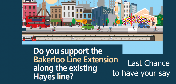 Last chance to have your say on the Bakerloo Line Extension