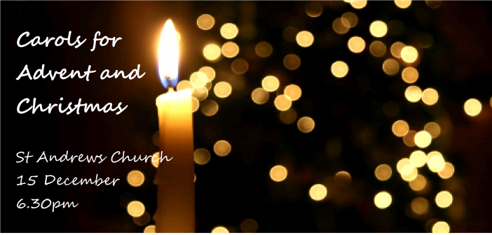 Carols for Advent and Christmas – St Andrews Church