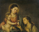 The Virgin and Child with Saint Rose of Viterbo