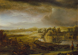 Landscape with a Coach
