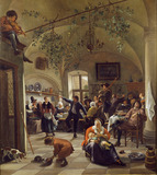 Merrymaking in a Tavern