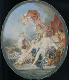 The Toilet of Venus (after Boucher)