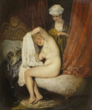 A Lady at her Toilet