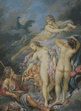 The Judgment of Paris (after Boucher)