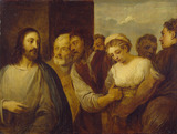 The Woman taken in Adultery (after Titian)