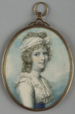 Princess Charlotte Augusta, after Cosway