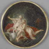 Leda and the Swan, after Boucher