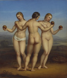 The Three Graces, after Raphael
