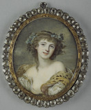 A Bacchante, called Madame Cail, after Greuze