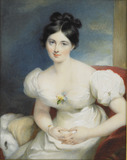 Margaret, Countess of Blessington, after Lawrence