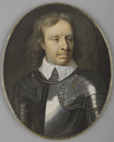 Oliver Cromwell, after Samuel Cooper