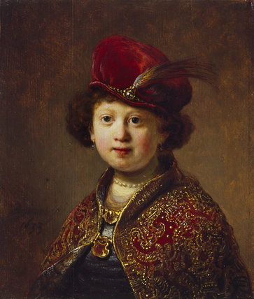 A Boy in Fanciful Costume