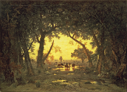 The Forest of Fontainebleau: Morning