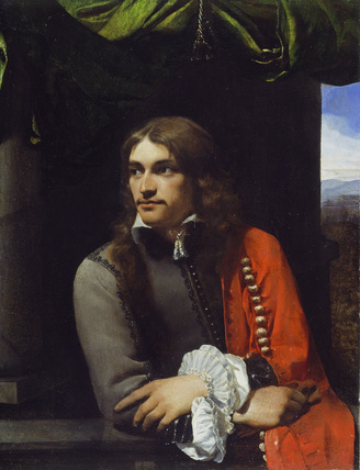 Portrait of Man, possibly Jean Deutz, with a Red Cloak