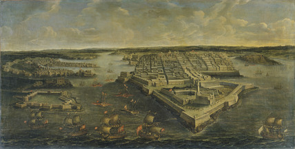 Malta: the Grand Harbour of Valletta