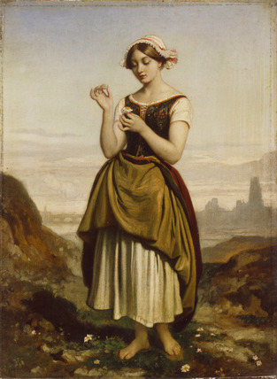 A French Peasant Girl